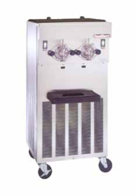 Saniserv 424-SERVE Soft Serve/Yogurt Freezer, 2-Heads, (2) 2-HP, 208-230V/60/3 V