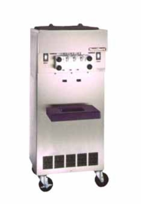 Saniserv 522-YOGURT Soft Serve/Yogurt Twist Freezer, 2-Head, (2) 1-HP, 208-230/60/3 V