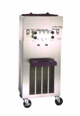 Saniserv 527-SERVE Floor Model Soft Serve/Yogurt Twist Freezer, 2-Heads, 2-HP, 208-230/60/3