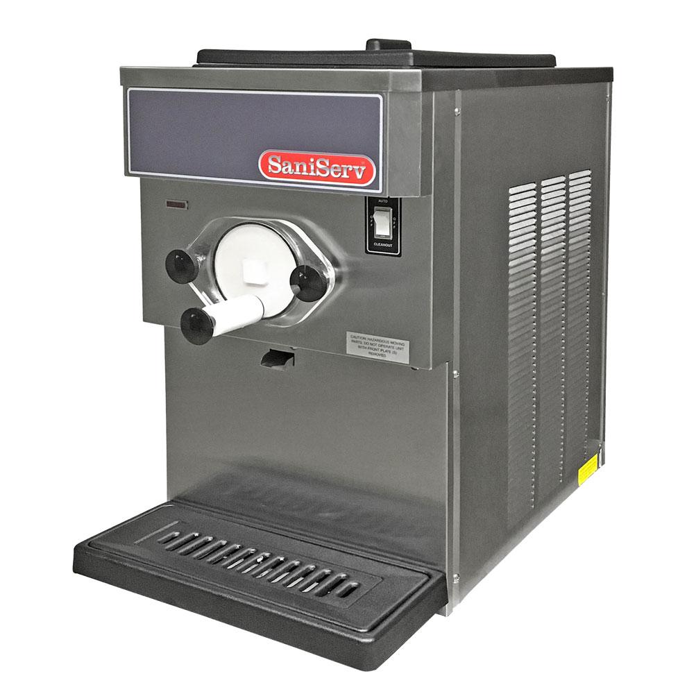 Saniserv 608S 20-qt Soft Serve/Yogurt Freezer w/ (1) Head - Stainless, 120v