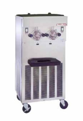 Saniserv 624-FREEZER Floor Model Shake Freezer, 2 Head, 2 HP Compressor, 208-230/60/3, NSF