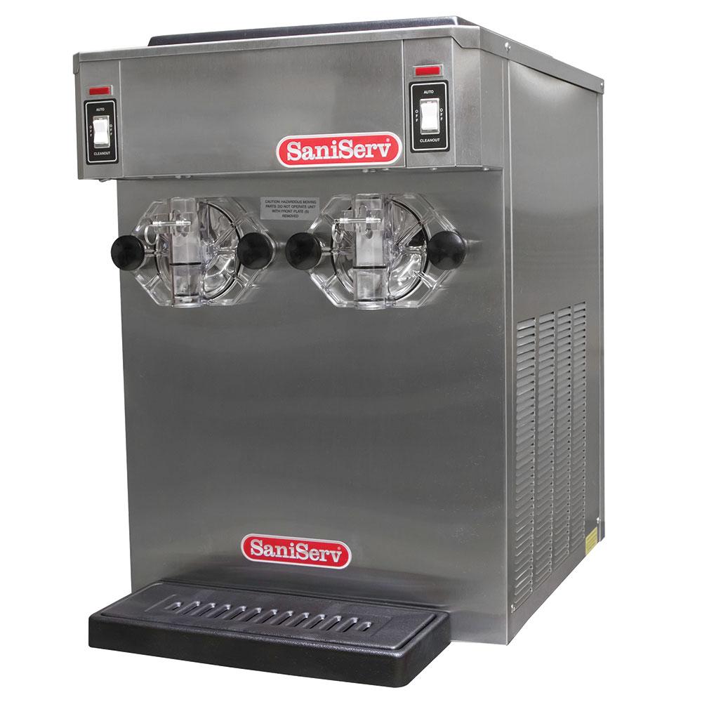 Saniserv 798R Frozen Cocktail Beverage Freezer, 2-Head, 14-qt, Remote