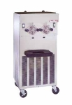 Saniserv 824-SOFTSERVE Soft Serve/Shake Combo Freezer, 2-Heads, 2-HP, 208-230/60/1 V