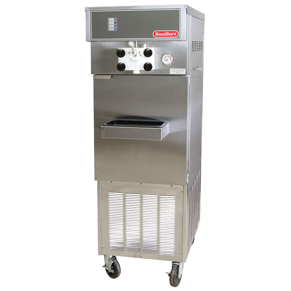 Saniserv 914 Pressurized Soft Serve Ice Cream Machine, 1-Head, 2-HP, 208/3 V