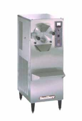 Saniserv B-10 S Floor Model Batch Freezer, 1-Head, 10-qt Barrel, 2-HP, 208-230/60/1 V