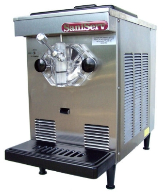 Saniserv DF200 Soft/Serve Ice Cream/Yogurt Machine, 1-Head, 1/2-HP, 115/60/1 V