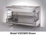 "Viking Commercial V36CMW 36"" Infrared Burner Gas Cheese Melter, NG"