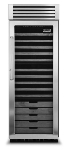 "Viking Commercial VCWB300 30"" One Section Wine Cooler w/ (1) Zone - 150-Bottle Capacity, 115v"