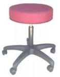 "Ergocraft E-16501 16.25"" Delta Stool w/ 3"" Foam, Adjustable Height"