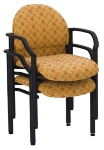 Ergocraft E-18520 Lakeport Reception Chair w/ Small Back, Stackable, 33.5 x 23.38 x 20""