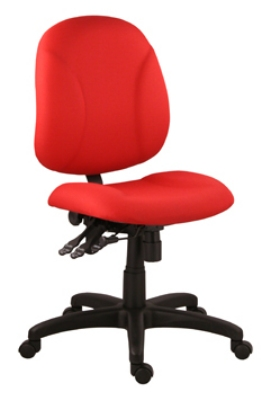 Ergocraft E-21754 Array Office Chair w/ Medium Back & 4-Paddle Executive Control, Height Adjust