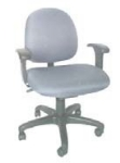 Ergocraft E-31721V Stratus Task Chair w/ Small Back & 1-Paddle Task Control, Adjustable Seat