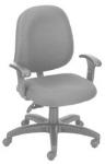 Ergocraft E-31753V Stratus Task Chair w/ Medium Back & 3-Paddle V Control, Adjustable Seat