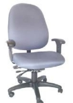 Ergocraft E-31784V Stratus Task Chair w/ High Back & 4-Paddle Executive V Control, Tilt Lock