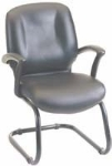 Ergocraft E-46950-C Zoey Guest Chair w/ Cantilever Base & Medium Back, 37 X 26 X 22""