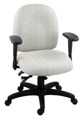 Ergocraft E-50154 Palisades Task Chair w/ Medium Back & 4-Paddle Executive Control