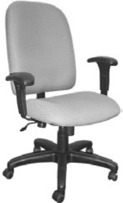 Ergocraft E-50181 Palisades Task Chair w/ High Back & 1-Paddle Tilt Lock Control