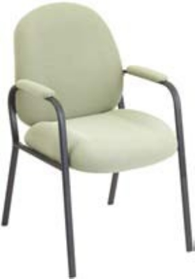 Ergocraft E-52850-4L Soft Sit Guest Chair w/ Medium Back & 4-Leg Base, 39.25 x 22 x 22-in