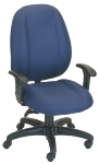Ergocraft E-52882V Soft Sit Office Chair w/ 2-Paddle Deluxe Control & High Back, Adjustable Seat