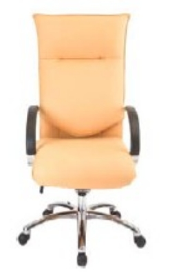 Ergocraft E-66581-CB Executive Conference Chair w/ Chrome Base & 1-Paddle Task Control, Manual