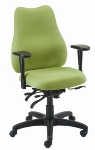 Ergocraft E-76854V Quasar Office Chair w/ 4-Paddle Executive Control & Medium Back, Adjustable Seat