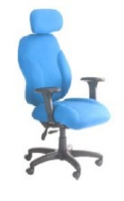 Ergocraft E-89882-BD Phantom Designer Series Chair w/ Headrest & 2-Paddle Control, High Back
