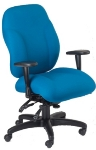 Ergocraft E-89884 Phantom Designer Series Chair w/ 4-Paddle & Waterfall Seat, High Back