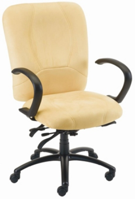 Ergocraft E-96882 Titan Office Chair w/ 2-Paddle Deluxe Control & High Back, Adjustable Seat