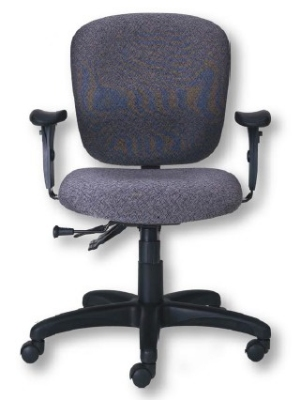 Ergocraft PS-5854-2481XL Cameron Task Chair w/ Medium Back & 4-Paddle Executive Control, Thick Cushion