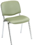 Ergocraft SS-19450 Active Plus Stackable Chair w/ Sturdy Steel Frame, Stacks 7 High
