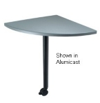 "Ergocraft TS-40450-ALD 24"" Motion Training Table w/ Locking Casters, Quarter Round, Alder"