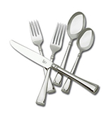Henckels 22773-345 45-Piece Angelico Set w/ 5-Piece Settings Plus Hostess Set