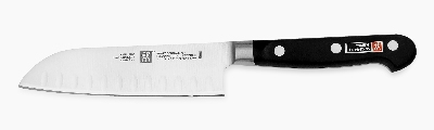Zwilling J.A. Henckels 31120-143 5-in Hollow Edge Santoku Knife