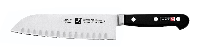 Zwilling J.A. Henckels 31120-183 7-in Hollow Edge Santoku Knife