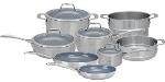 Zwilling J.a. Henckels 64080-002 Spirit Set; 1&3-qt Sauce, 3-qt Saute, 6-qt Dutch Oven, Lids, 10&8-qt Fry, Insert