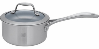 Henckels 64085-180 2-qt Stainless Steel Saucepan w/ Solid Metal Handle
