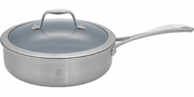 Zwilling J.a. Henckels 64087-280 5-qt Saute Pan w/ Lid, Thermolon Coated