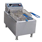 Commercial Pro CPF10 Countertop Electric Fryer - (1) 10-lb Vat, 120v