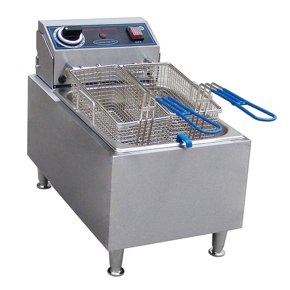 Commercial Pro CPF10 Countertop Electric Fryer - (1) 10-lb Vat, 120v