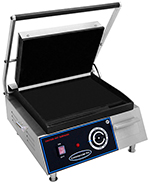Commercial Pro CPSGM1 Panini Grill - Medium, Smooth Plate 120v