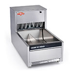 "Perfect Fry PFCH-14 14.25"" Crisp 'N Hold Fry Warmer Dump Station - Underburner, 120v"