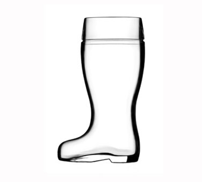 Stolzle 09735/708047 17.5-oz Biersiefel Beer Boot Glass
