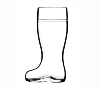 Stolzle 09735/808047 35-oz Biersiefel Beer Boot Glass