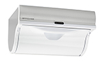 "Innovia WB2-159W Automatic Paper Towel Dispenser w/ 6.5"" Round Roll Capacity, Stainless, White"