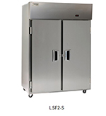"Delfield Scientific LAF2-S 56"" Two Section Reach-In Freezer, (2) Solid Doors, 115v"