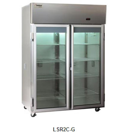 Delfield Scientific LAR1C-G Full Size Medical Refrigerator - Access Ports, 115v