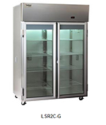Delfield Scientific LAR2C-G Full Size Medical Refrigerator - Access Ports, 115v