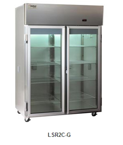 Delfield Scientific LAR2C-G Full Size Medical Refrigerator - 115v