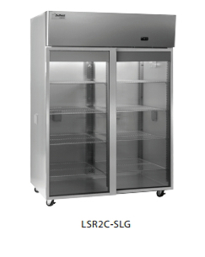 Delfield Scientific LAR2C-SLG Full Size Medical Refrigerator - Access Ports, 115v