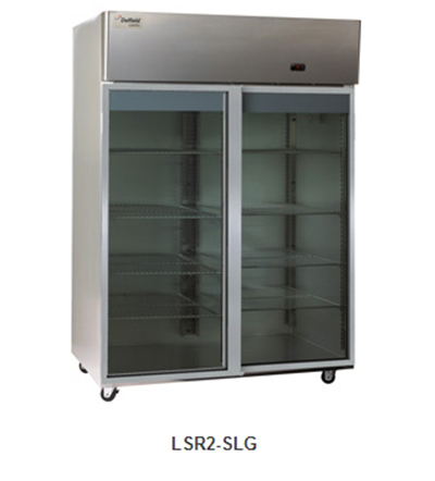 Delfield Scientific LAR2-SLG Full Size Medical Refrigerator - Access Ports, 115v